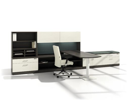 Office furniture Gyva northern Quebec division Installation include
