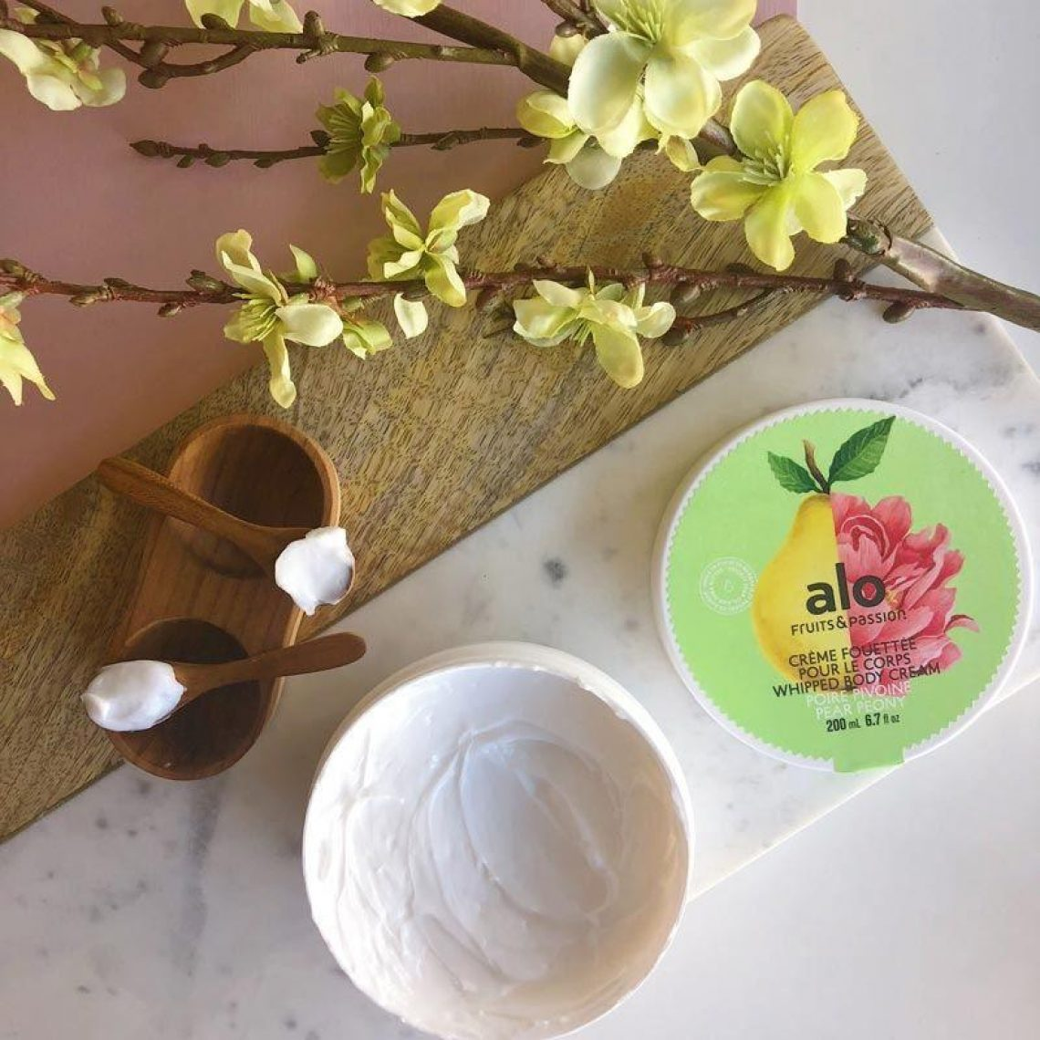 creme fouettée pour le corps Whipped Body Cream poire pear