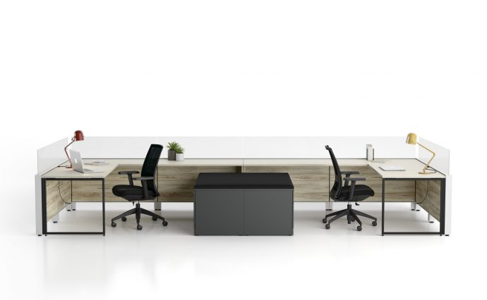 Axel Work Station Team Efficiency Office Confortable Creative Space Gyva