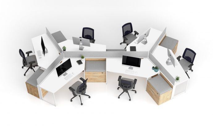 Axel Coworking Openspace Collaboration Furniture Formation Professional Gyva Office Supplies