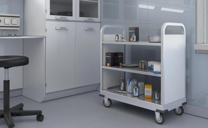 Montel Produit Medical Cart Chariot